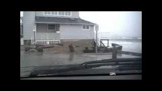 Hurricane Sandy in Milford CT.