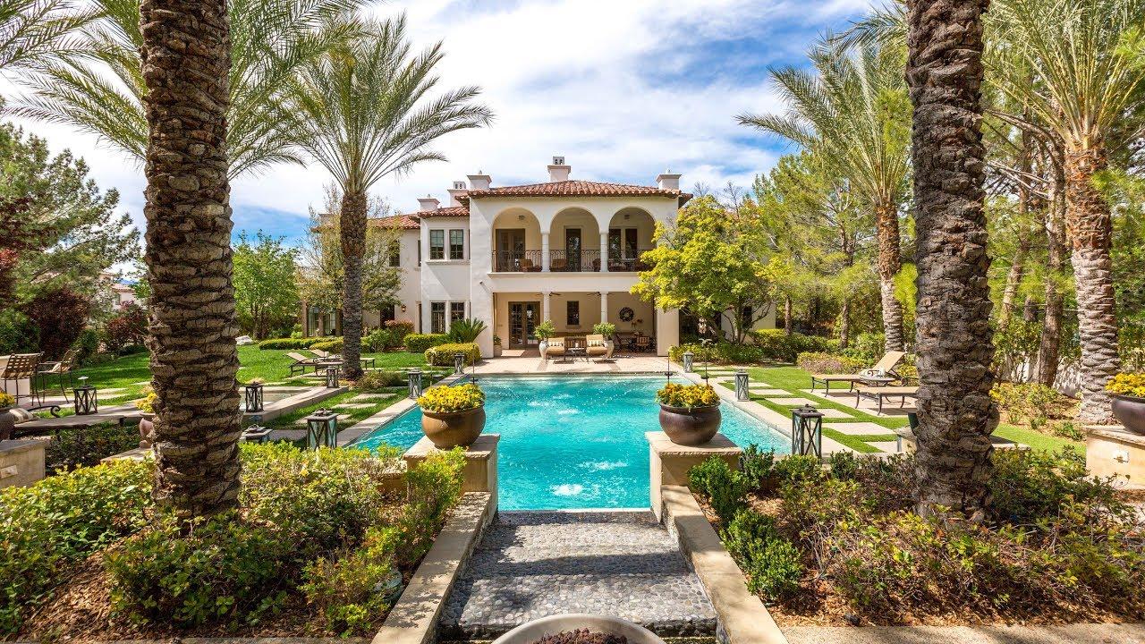 Santa Barbara Dream Home 55 Quintessa Circle Las Vegas Nv