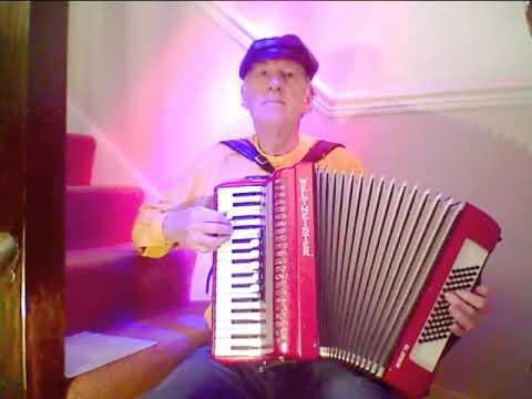 Fuli Tschai   Hungarian Gypsy Tune On Accordion