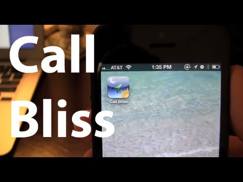 Call Bliss iPhone App Review