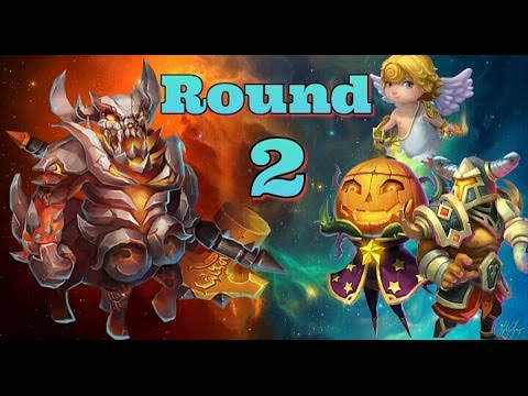 Castle Clash Boss 4 Round 2!!  3 Minute Runs!?