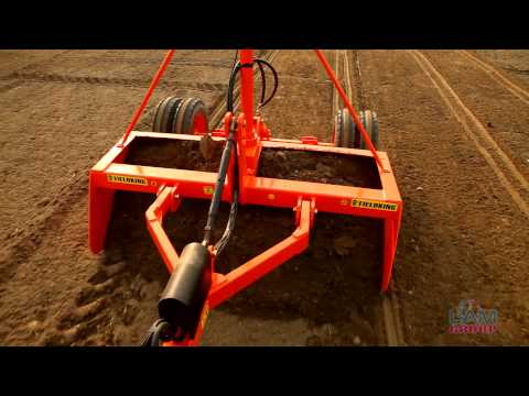 Eco Planer Laser Guided Land Leveler | Fieldking Land Leveler