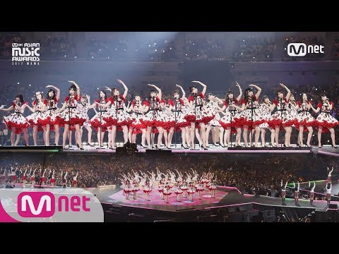 2017 MAMA in Japan AKB48&CHUNG HA&Weki Meki&PRISTIN&fromis9&Idol School Class 1ITS SHOWTIME