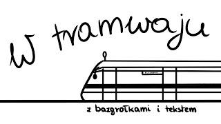 W tramwaju (piosenka ukulele z tekstem i bazgrołkami)