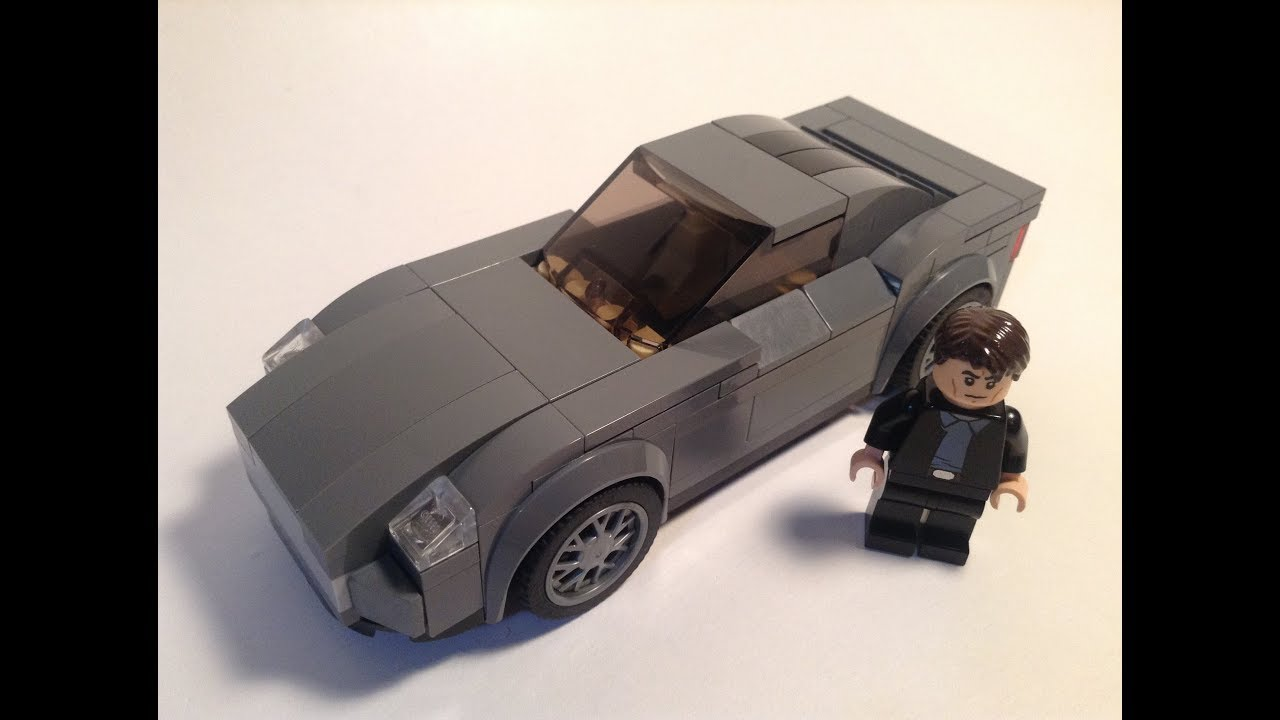 lego aston martin vanquish (based on james bond) - youtube