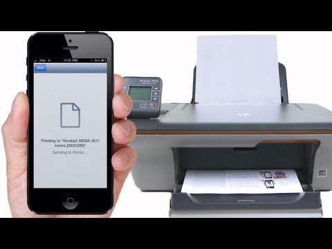 How to Print to ANY Printer from iPhone, iPod, iPad via Windows
