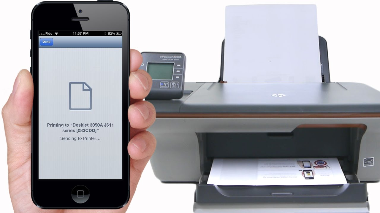 can you print from an iphone how to print to any printer from iphone ipod via 18335