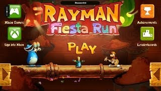 Rayman Fiesta Run Windows 8 Windows 8.1 Windows RT gameplay