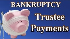 Bankruptcy: How much are payments in a Chapter 13 Bankruptcy?