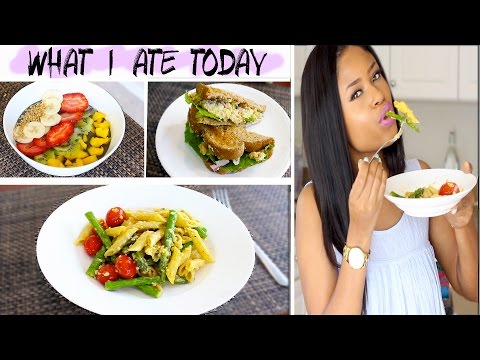 WHAT I ATE TODAY | Vegan, Healthy & TASTYYY!