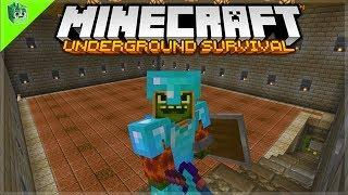 I Spent 4 HOURS making an underground Tree Farm! - Minecraft Underground Survival Guide (19)