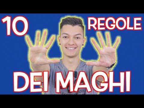 LE REGOLE CHE I MAGHI NON DEVONO MAI INFRANGERE!