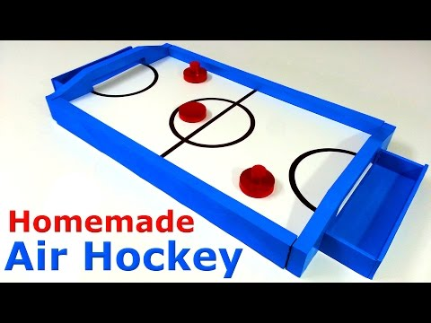 How To Make Air Hockey