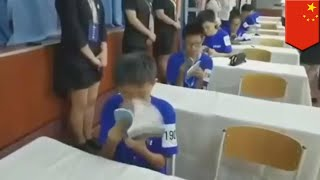 Chinese speed reading contest is a real page turner - TomoNews