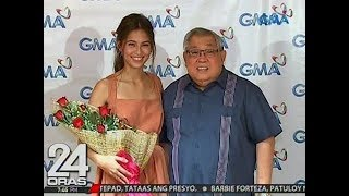 24 Oras: Jasmine Curtis-Smith, Kapuso na