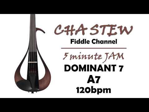 improvising over dominant 7 chords: key e major - a7 - 120bpm