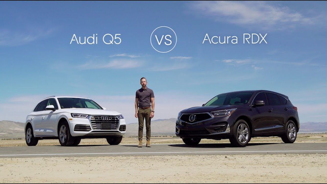 2019 Audi Q5 Road Test Review Vs The 2019 Acura Rdx Youtube