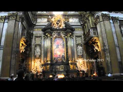 The Baroque Machine of Andrea Pozzo in the Chapel of st Ignatius in Rome (manortiz)