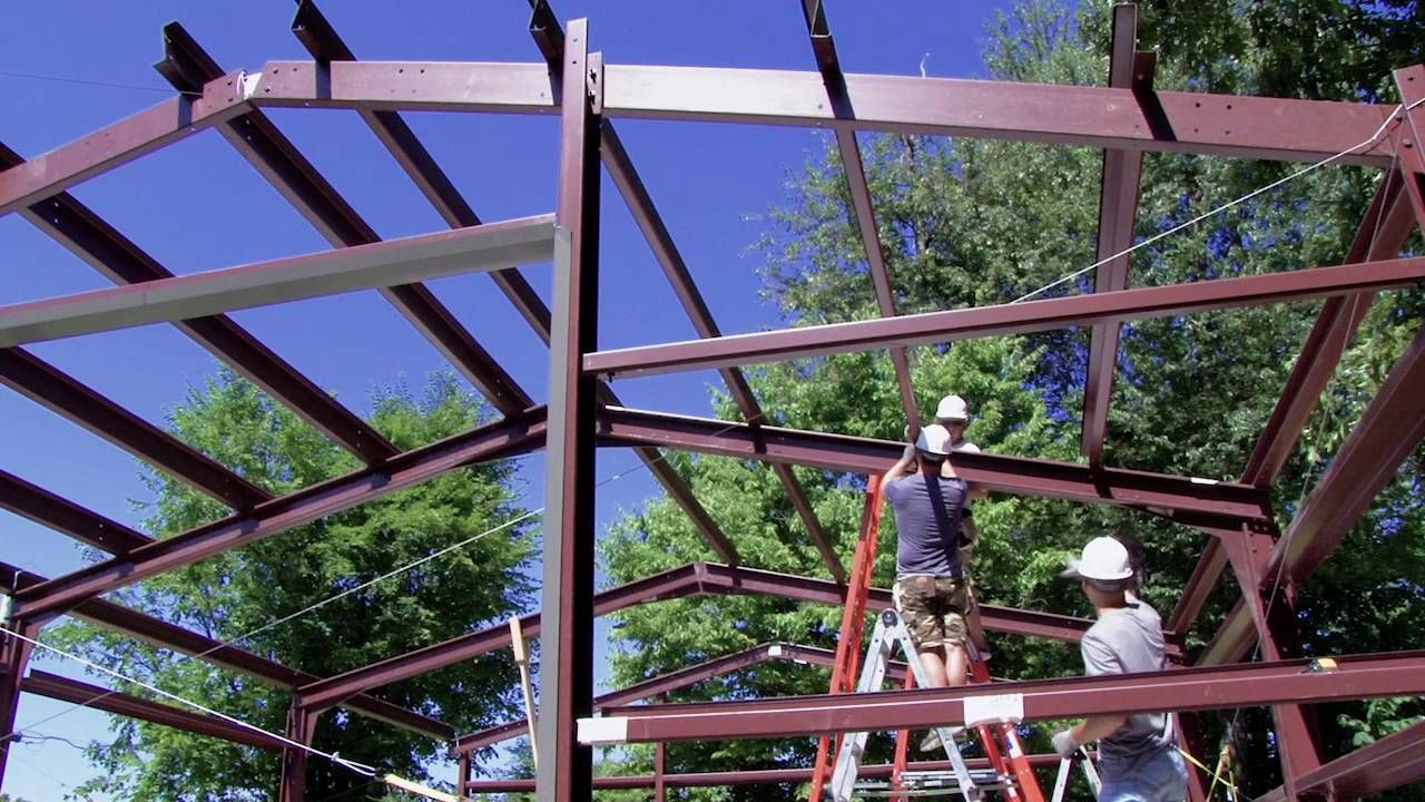 Step 29 Install Roof Purlins Youtube