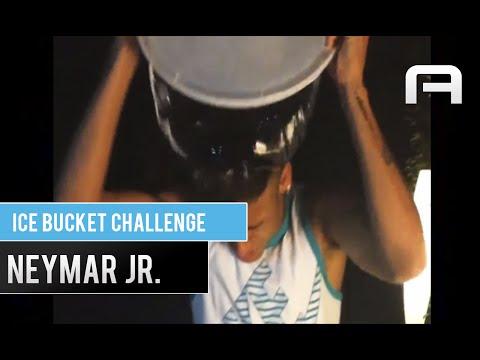 Neymar - Ice Bucket Challenge! Nominates Niallhoran, Robinho and Zuniga