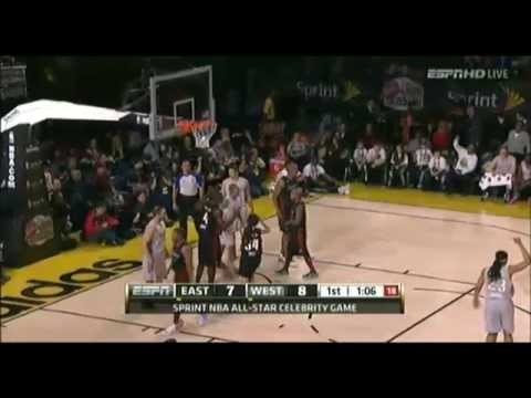 NBA All Star Celebrity Game 2013 part1