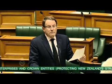 State-Owned Enterprises and Crown Entities Amendment Bill - First Reading - Part 4