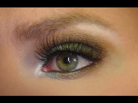 Easy Green Brown Smokey Eye Youtube