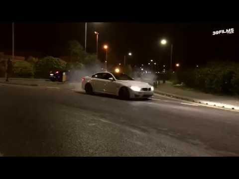 BMW M4 -  Crazy Drifting in London #39FILMS