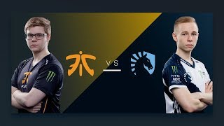 CS:GO - Fnatic vs. Liquid [Mirage] - Group A Round 4 - ESL Pro League Season 6 Finals