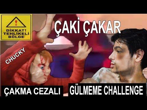 CHUCKY İLE ÇAKMA CEZALI GÜLMEME CHALLENGE !!!