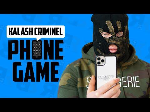 Youtube: KALASH CRIMINEL – PHONE GAME: Son appli préférée, Rihanna, Ribéry, les haters du Net, ses DM…