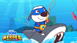 Talking Tom Heroes - The Pearl Robber and a Shark (Episode 37)