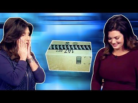 News Anchors Laugh