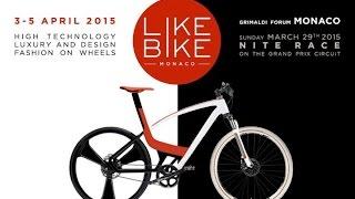 Like Bike Montecarlo presentazione  del salone della bicicletta di lusso