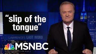 Lawrence's Last Word: Robert Mueller Exposes Sarah Sanders' Lies | The Last Word | MSNBC