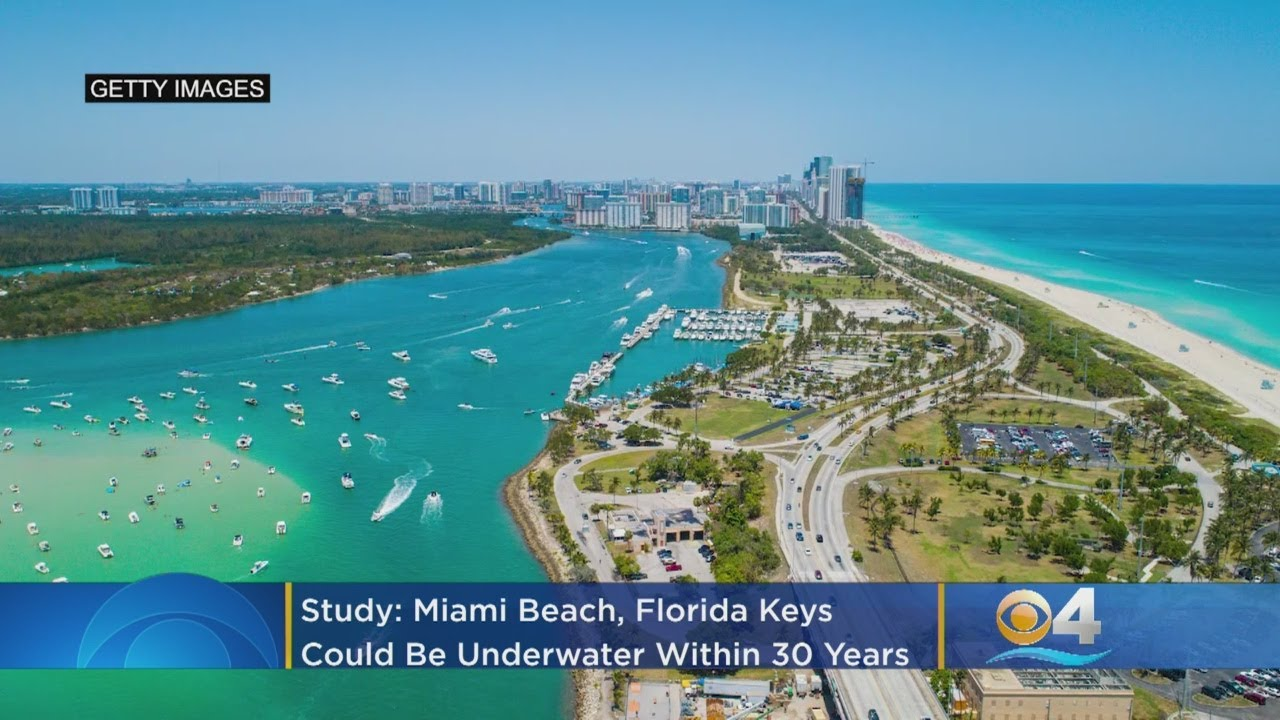Study: Miami Beach, Florida Keys Could Be Underwater Within 30 Years -  YouTube