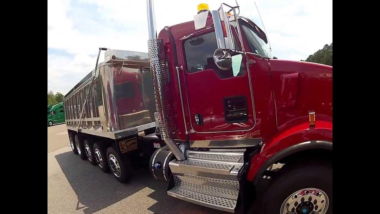 2014 Kenworth T800 Dump Walk-Around - Truck Enterprises ... Kenworth Dump Trucks Pics