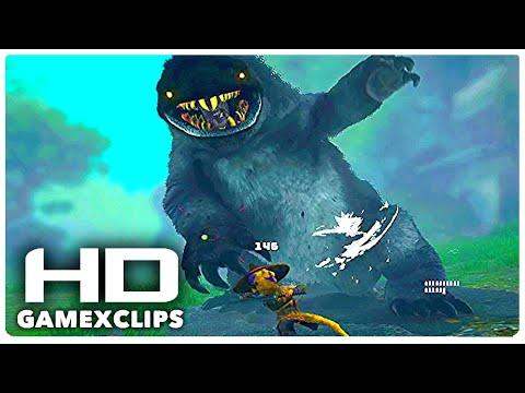 BIOMUTANT Fluff Hulk Mini Boss Fight | Game CLIP [HD] |