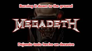 Megadeth - The Disintegrators (Subtitulos Español Lyrics)