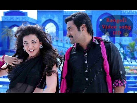 Rangoli Rangoli video Song HD - Baadshah Movie video songs - NTR, Kajal Aggarwal