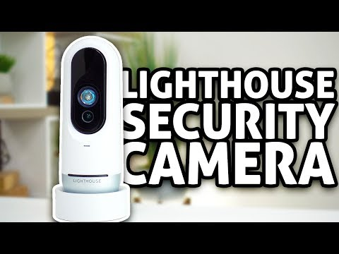 Lighthouse AI Security Camera | REVIEW