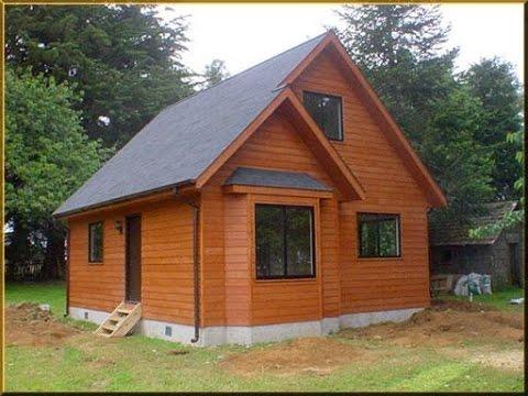 Como hacer una casa de madera en el campo youtube - Como construir una casa de madera ...