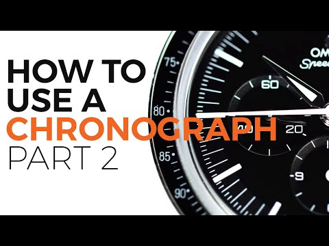 How To Use A Watch Chronograph Part 2 | The Tachymeter With An OMEGA Speedmaster