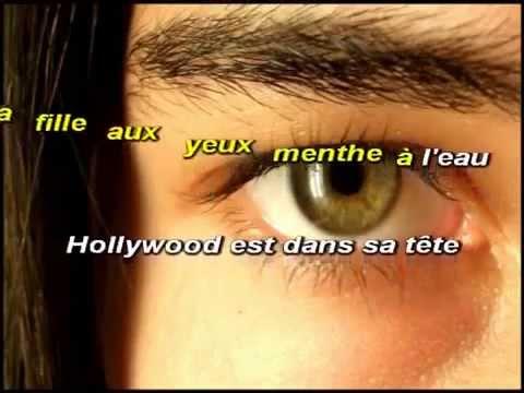 Karaoké-Eddy-Mitchell-Couleur-menthe-à-leau