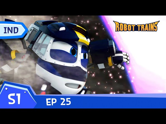 Robot Trains   #25   The Time Tunnel   Episode penuh   Bahasa Indonesia   robottrainreplay