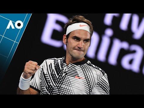 Federer v Nadal: Set 1 highlights (Final) | Australian Open 2017