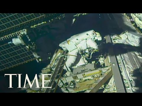 Download Youtube: Astronauts Made Urgent Repairs At The International Space Station | TIME