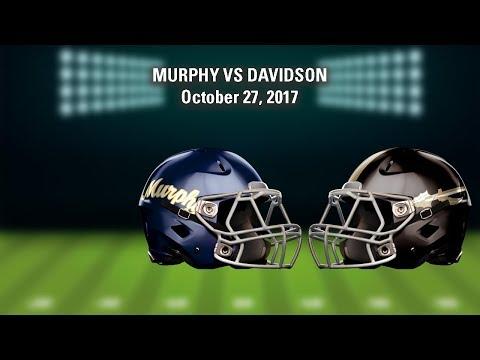 LIVE! Murphy at Davidson (High School Football)