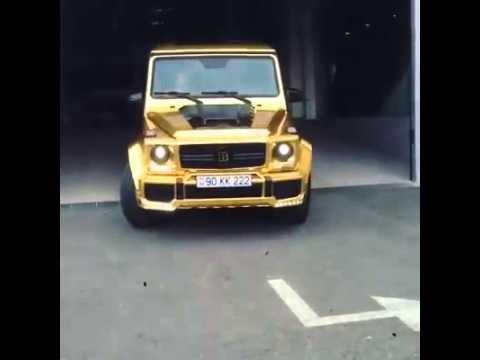 """Mercedes-Benz G-Class (G-Wagon) G350 BlueTec Gold """"24 Carat Offroader"""""""