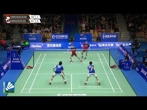 Kevin Sanjaya/ Marcus Fernaldi vs Hiroyuki Endo/ Yuta Watanabe | Final Badminton Asia Championships